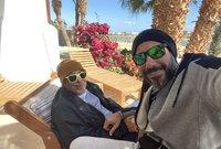 أحمد السعدني هو نجل الفنان القدير صلاح السعدني الذي يعد من القامات الكبيرة في الفن العربي والمصري
